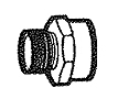 Compliant Female Garden Hose to Male Pipe Adapter Fittings
